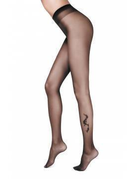 Women's polyamide tights SOPOT 14С-41СП, размер 2, цвет nero