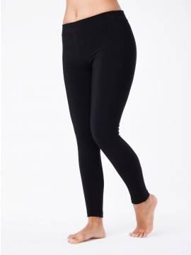 women's leggings CONTE ELEGANT WONDER SLIM SUPER+ 18С-566ТСП, размер 164-130, цвет nero
