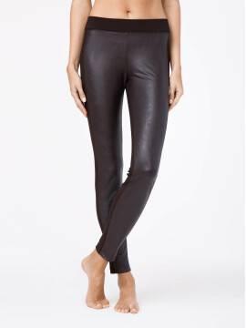 Women's leggings STORY 13С-528ЛСП, размер 164-102, цвет nero