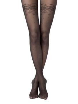 Women's polyamide tights AMATO 14С-46СП, размер 2, цвет bianco