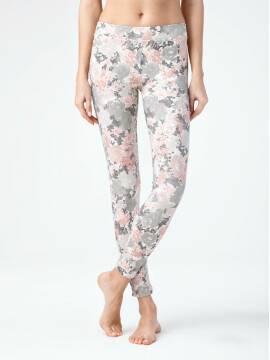 Women's leggings VERONA 15С-602ЛСП, размер 164-102, цвет fumo