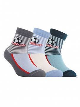 children's cotton socks TIP-TOP 5С-11СП, размер 12, цвет dark grey