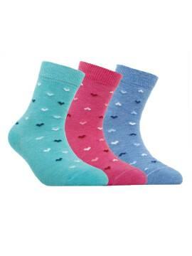 Children's cotton socks TIP-TOP 5С-11СП, размер 16, цвет blue
