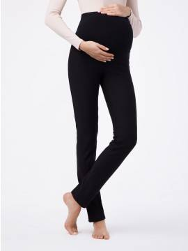 women's leggings CONTE ELEGANT WINDY BELLY 18С-594ТСП, размер 164-90, цвет nero