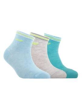 Children's cotton socks ACTIVE (короткие) 7С-97СП, размер 14, цвет бирюза