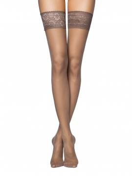 women's stockings CONTE ELEGANT CLASS 20 8С-90СП, размер 3-4, цвет natural