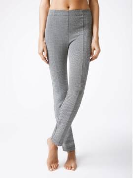 women's leggings CONTE ELEGANT ALANA 18С-549ТСП, размер 164-102, цвет grey