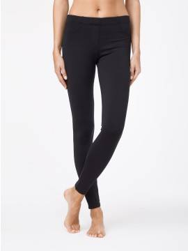 Women's leggings GOLDY LUX 15С-003ТСП, размер 164-102, цвет black