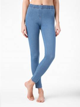 Women's jeggings ALANY 15С-669ЛСП, размер 164-102, цвет blue-denim
