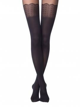 Women's polyamide tights PIANO 14С-96СП, размер 2, цвет grafit