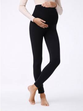 women's leggings CONTE ELEGANT SOFTI LUX 17С-407ТСП, размер 164-102, цвет nero