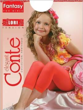 Leggings for girls LORI 8С-110СП, размер 104-110, цвет bianco