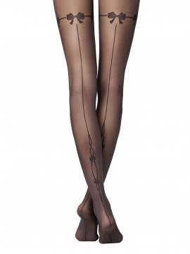women's polyamide tights MISTERY 14С-45СП, размер 3, цвет grafit