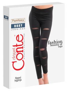 Women's leggings ROXY 15C-589ЛСП, размер 164-102, цвет black